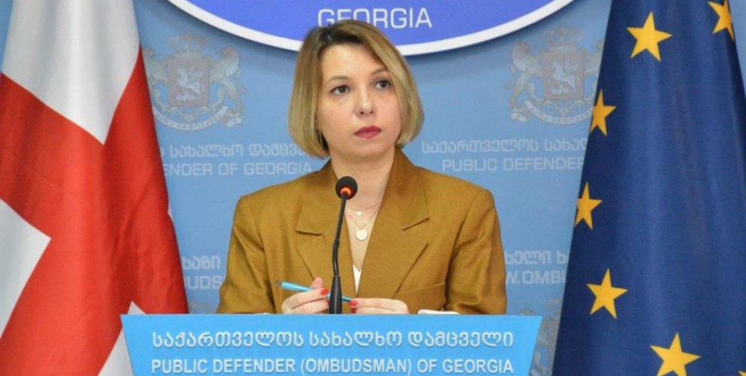 Public Defender Presents Report on Situation of Human Rights and Freedoms in Georgia