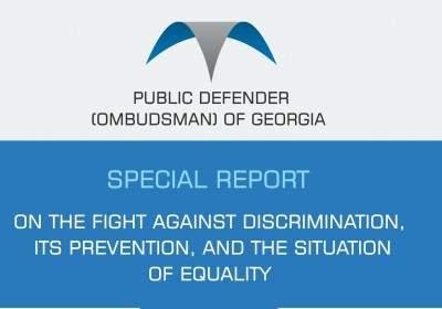 SPECIAL REPORT ON THE FIGHT AGAINST DISCRIMINATION, ITS PREVENTION, AND THE SITUATION OF EQUALITY 2018