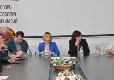 Public Defender Holds Meetings in Telavi