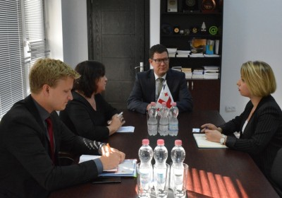 Public Defender Meets with German Federal Government Commissioner for Human Rights Policy and Humanitarian Aid