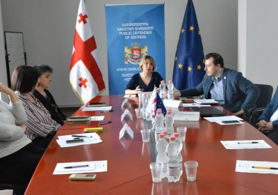 Public Defender Holds Introductory Meeting with Members of Special Preventive Group