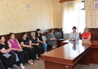 Public Defender Holds Meetings in Guria