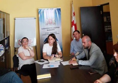Meeting in the Kvemo Kartli between the lawyers working in the Kvemo Kartli region and representatives of the Public Defender's Office.