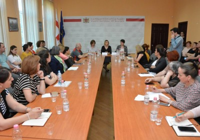 Public Defender Meets with Representatives of NGOs and Students in Kutaisi