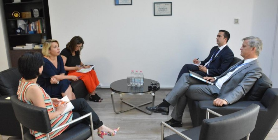 Meeting with EUMM Head in Georgia