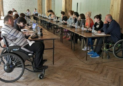 Training for Organizations of Persons with Disabilities