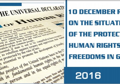Report on Human Rights and Freedoms in 2016