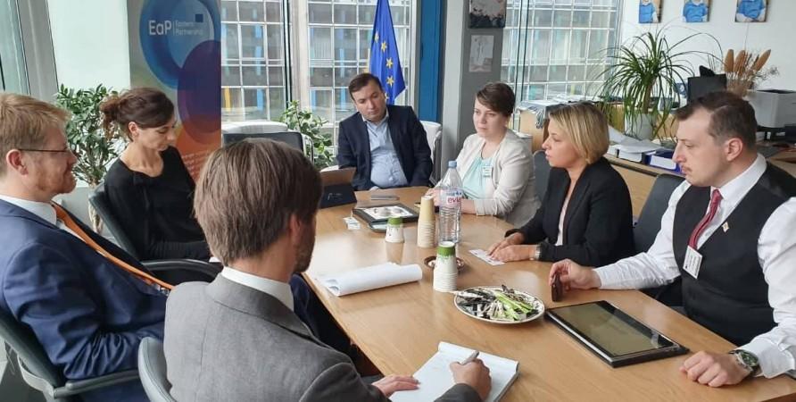Public Defender's Official Visit to Brussels