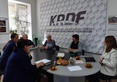 Meetings in Akhmeta Municipality