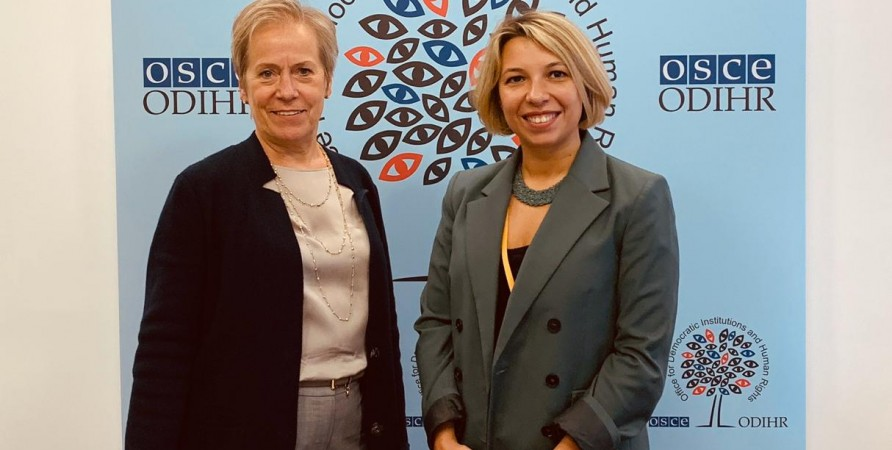 Public Defender Meets with OSCE/ODIHR Director