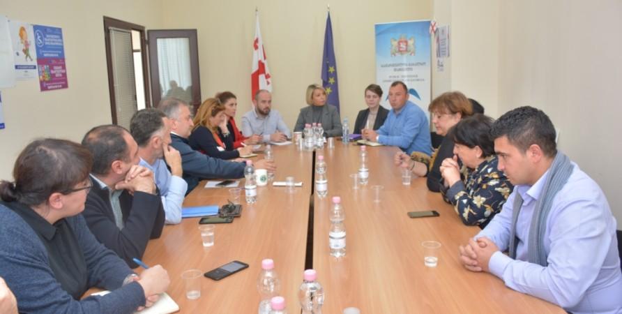 Meetings with Representatives of Civil Sector in Ninotsminda and Akhalkalaki