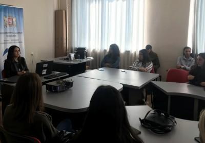 შეხვედრები კაჭრეთისა და თელავის საგანმანათლებლო დაწესებულებების სტუდენტებთან