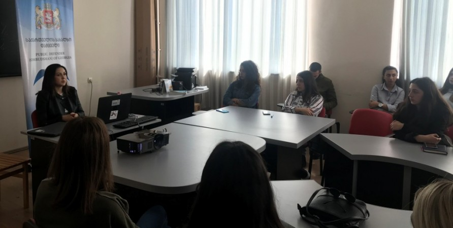 Meetings with Students of Kachreti and Telavi Educational Institutions