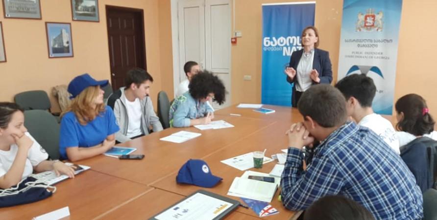Informational Meetings with School Children