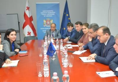 Meeting with Members of Tajik delegation