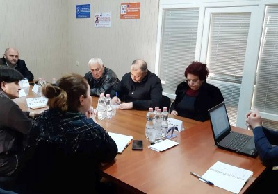 Meeting with Lawyers Working in Kakheti