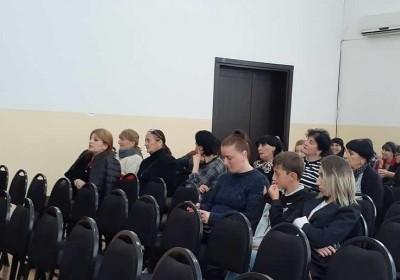 Informational Meetings in Chokhatauri and Ozurgeti Municipalities