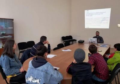 Informational Meetings in Samegrelo Region