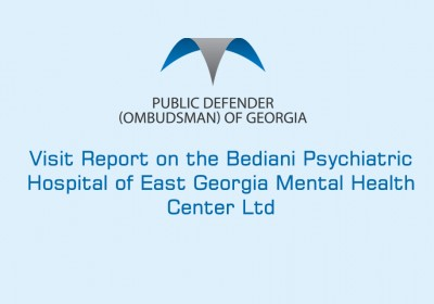 Visit Report on the Bediani Psychiatric Hospital of East Georgia Mental Health Center Ltd