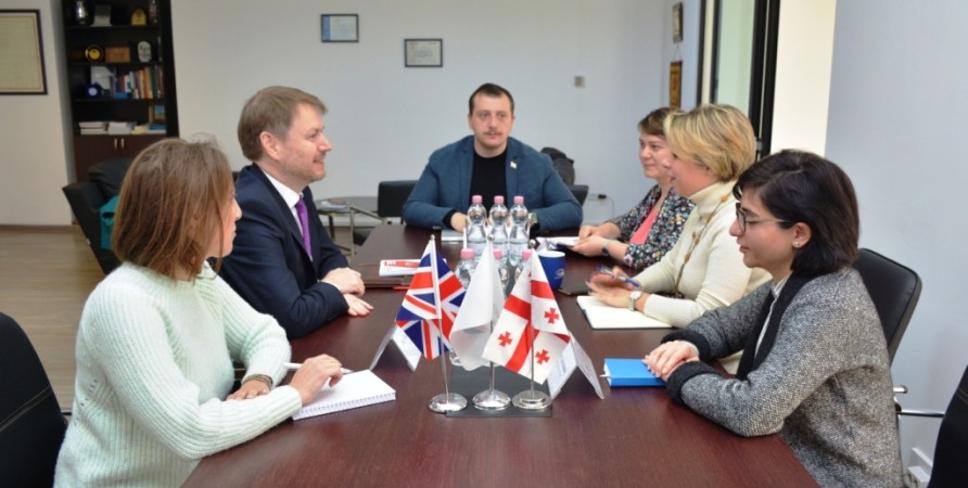 Public Defender Meets with Ambassador of Great Britain to Georgia