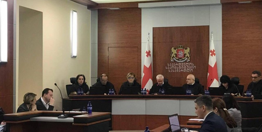 Public Defender Delivers Speech in the Constitutional Court