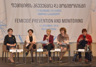 Conference on Prevention and Monitoring of Femicide