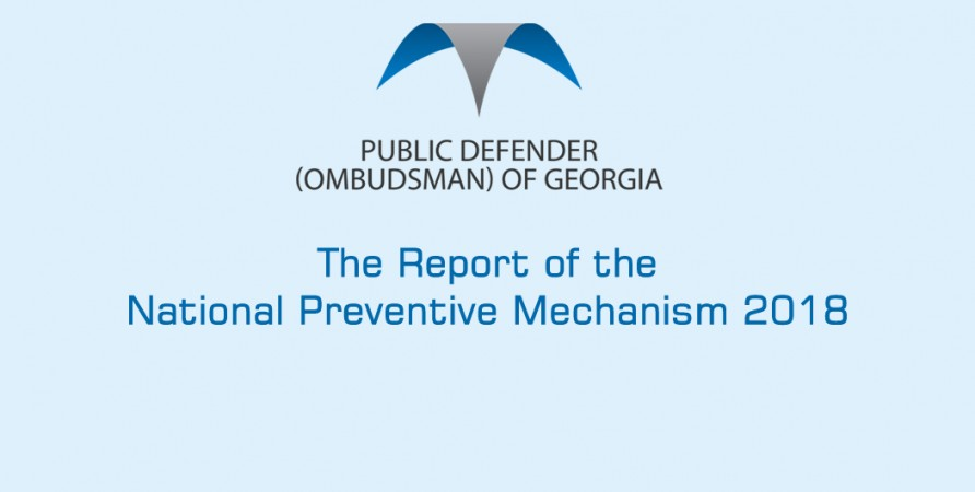 The Report of the National Preventive Mechanism 2018