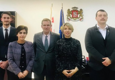 Public Defender Meets with Ambassador of France