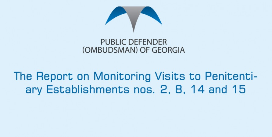 Report on the Monitoring Visits to Establishments nos 2, 8, 14, 15