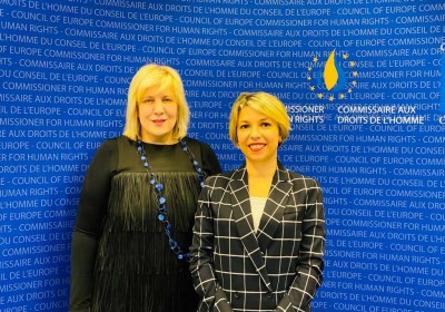 Public Defender Meets with Council of Europe Commissioner for Human Rights