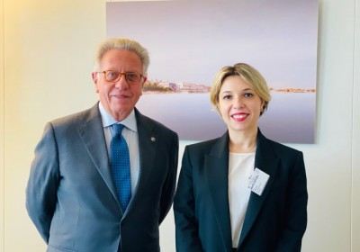 Public Defender Meets with President  of Venice Commission