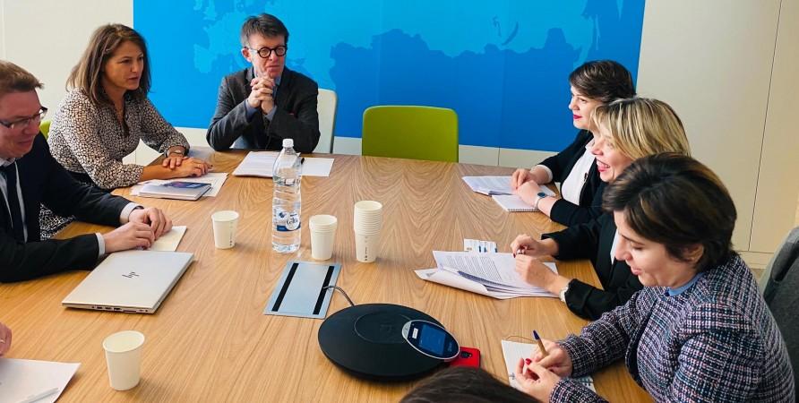 შეხვედრა რასიზმისა და შეუწყნარებლობის წინააღმდეგ ევროპული კომისიის წარმომადგენლებთან
