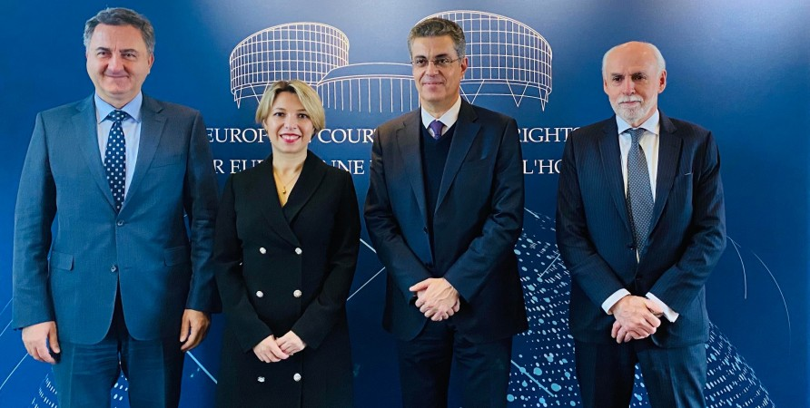 Meeting with President of European Court of Human Rights