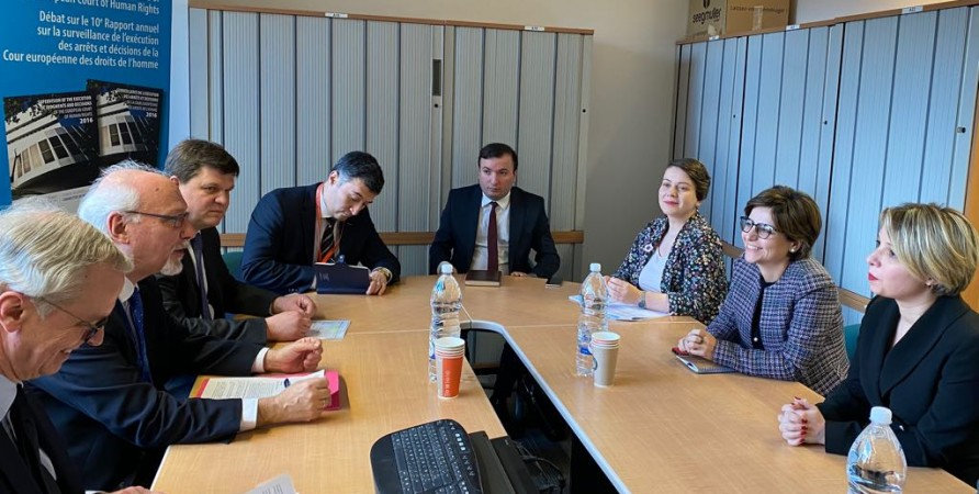 Meeting with Director General of Human Rights and Rule of Law of Council of Europe