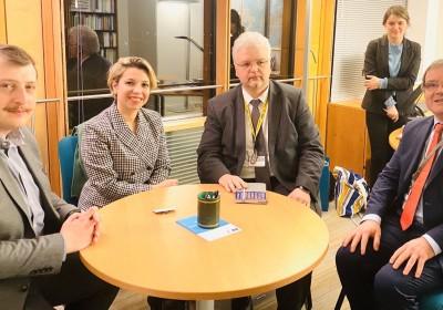 Public Defender's Official Meetings in Strasbourg
