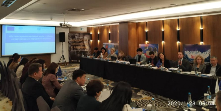Public Defender's Representative Shares Experience with Kyrgyz Public Servants and NGOs