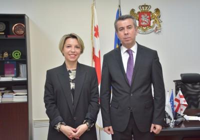 Meeting with Ombudsman of Tajikistan