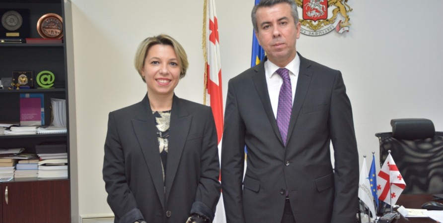 Meeting with Ombudsman of Tajikistan