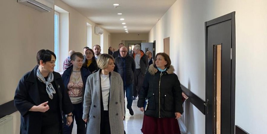 Public Defender Visits Psychiatric Department of Batumi Medical Center