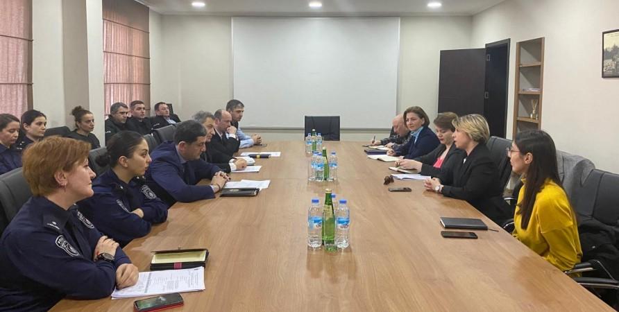 Meeting with Adjara Police Officers