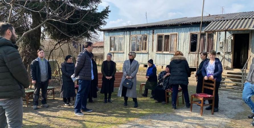 Visit to Shamgona Village Near Dividing Line