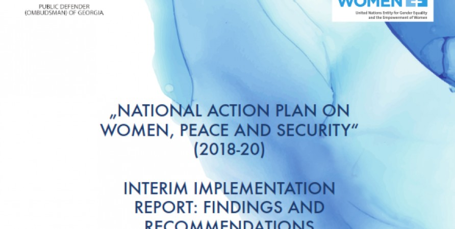 Findings and Recommendations of Interim Monitoring of Implementation of 2018-2020 National Action Plan for Women, Peace and Security