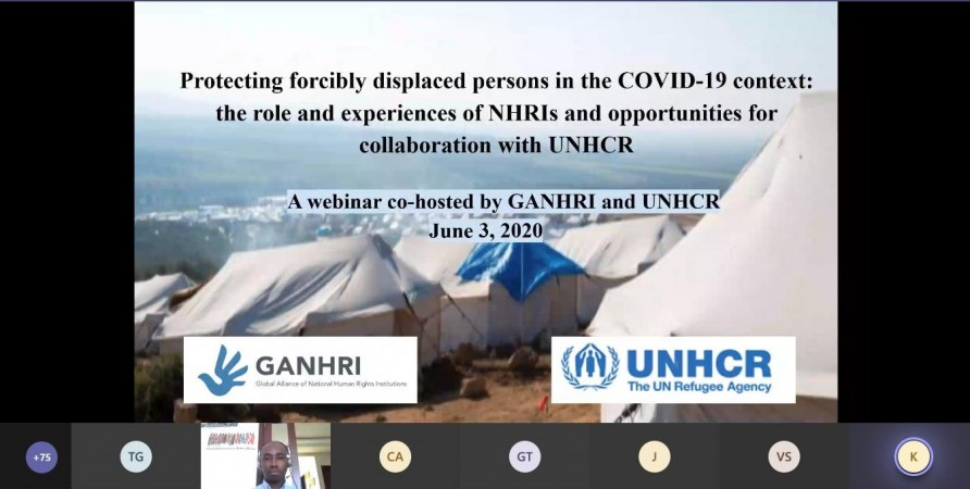 Webinar: Protecting Forcibly Displaced Persons in the COVID-19 Context