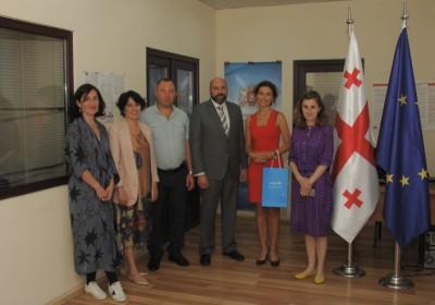 UNICEF Representative in Georgia Visits Public Defender's Samtskhe-Javakheti Office