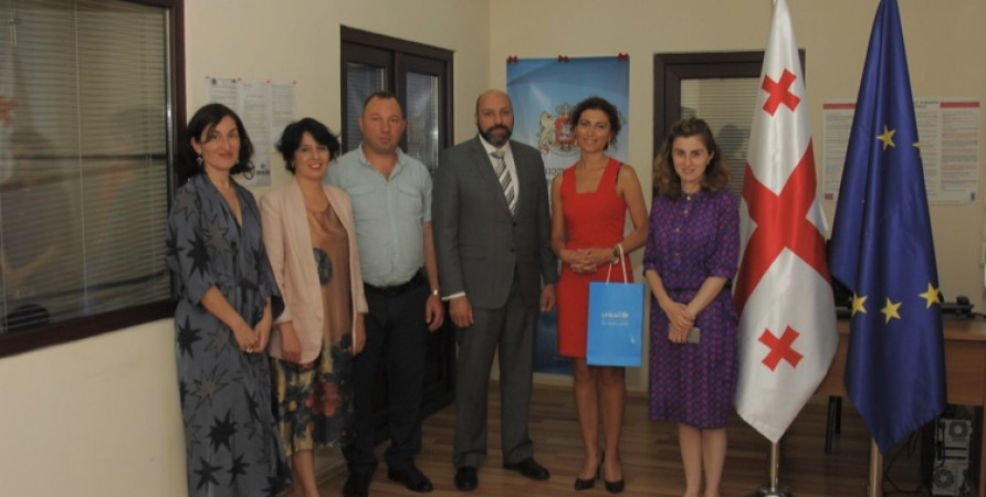 UNICEF Representative in Georgia Visits Public Defender's Samtskhe-Javakheti Office