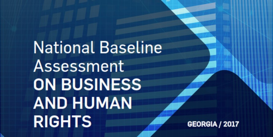 Conduct of the National Baseline Assessment (NBA) on Business and Human Rights