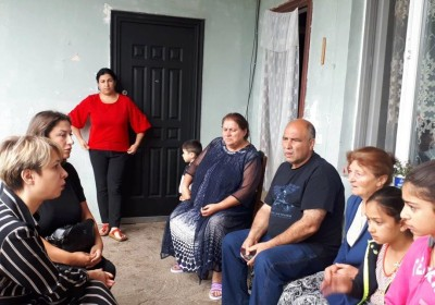 Meeting with Family Members of Person Detained by Occupation Regime