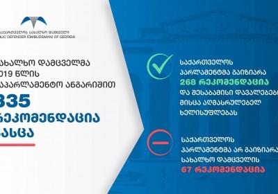 საქართველოს სახალხო დამცველის განცხადება საქართველოს პარლამენტის 2020 წლის 29 ივნისის დადგენილების შესახებ