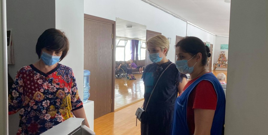 Public Defender Visits Ozurgeti Nursing Home