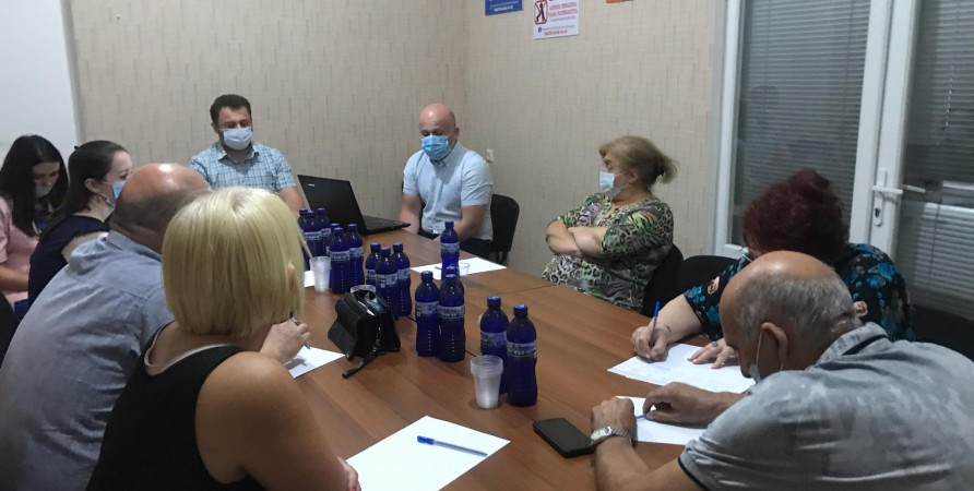 Meeting with Students and Lawyers Working in the Field of Criminal Law